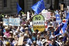 런던 도심 메운 '反브렉시트 시위대'