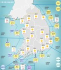 오늘날씨, 올들어 가장 추운날 기록 전국이 영하권 몸살