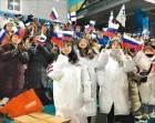 강원도엔 러시아 깃발 든 한국 응원단이 있다?