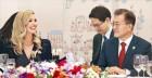 """문 대통령 """"트럼프, 남북대화 지지에 감사""""… 이방카 """"최대한 북한 압박 재확인"""""""