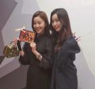세리, 유니티 데뷔 응원 인증샷 공개...'달샤벳의 영원한 우정'