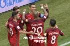 '호날두 선제 결승골' 포르투갈, 컨페드컵 4강 진출