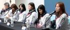 [포토]대한민국 여자 쇼트트랙 대표팀 기자회견