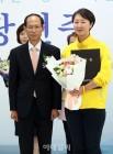 기념촬영하는 권수정 서울시의원 당선인