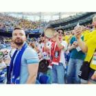 """류덕환, 월드컵 스웨덴전 직관 인증 """"자랑스러운 선수들"""""""