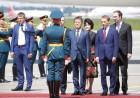 文대통령, 러시아 도착…푸틴과 정상회담·월드컵 멕시코전 응원