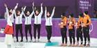 쇼트트랙 여자 3000m 계주, 올림픽 2연패 달성…中, 판커신 임페딩 반칙으로 실격