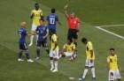 콜롬비아 카를로스 산체스, 러시아 월드컵 1호역대 2번째 단시간 퇴장 기록