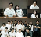 """김주혁X천우희 주연 '아르곤', 대본리딩 현장 공개 """"열기 후끈"""""""