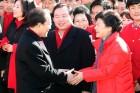 """이회창 """"탄핵 사태 주된 책임자는 박근혜"""""""