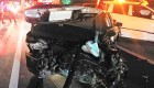 고속도로에서 멧돼지 피하려다 5중 추돌 사고