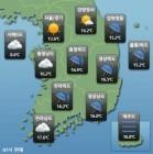 <오늘 날씨> 비 그친 뒤 중국발 황사...저녁부터 미세먼지 나쁨