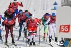 [5G 올림픽 뷰⑨]설원 마라톤 100배 즐기기 '옴니뷰'