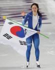 """문 대통령 """"이상화 영원한 빙상의 여왕"""""""