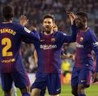 바르셀로나 '무패 우승' 위업까지 앞으로 5경기