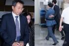 '나체 합성사진' 만든 국정원 직원, 법원에서 미소