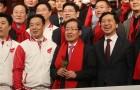 보수 야당의 올림픽 '적화' 개그 3종세트