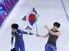총 37.4km 달린 '철인' 이승훈, 올림픽 '초대 챔피언' 꿈 이뤘다