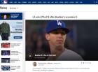 워커 뷸러, 선발 데뷔전 성공적... 다저스의 새로운 희망?