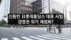 [라인뉴스] 신동빈 日롯데홀딩스 대표 사임…경영권 위기 재점화?