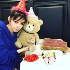 박봄 근황 공개…미리 할로윈 파티?