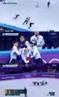 쇼트트랙 남자 5000m 계주서 넘어진 임효준, 경기 후 안타까운 눈물