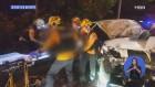 화물차가 도로공사 순찰차 덮쳐 1명 사망…영동고속도로서는 17중 추돌사고