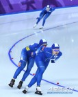 [평창 Live]'메달권 무산' 女팀추월, 폴란드와 7-8위 결정전