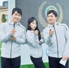 """""""애교 포즈""""…홍진영, 윤성빈X김지수와 '런닝맨' 촬영 인증샷"""
