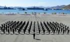 """해군장교 136명 임관…""""조국의 바다를 지켜내겠습니다"""""""
