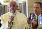 교황 '원폭 연하장' 보이며 핵위협 경고