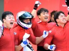 세계 50위 봅슬레이 4인승, 공동 은메달 '꼴찌의 반란'