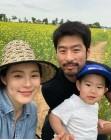 '임신 8개월차' 애프터스쿨 가희, 훈남 남편아들 노아와 나들이