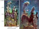 우주의 10대 신비…독수리 성운의 '창조의 기둥' 비밀 밝혀졌다