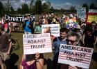 트럼프·푸틴 만나는 헬싱키… 반대 시위로 몸살