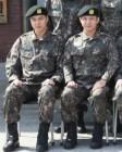 '동영상 파문' 서준영, 이민호 육군훈련소 군대사진서 포착
