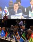 """김동연 """"4차 산업혁명기술 적용시 아프리카는 스마트인프라의 산실로 거듭날 것"""""""
