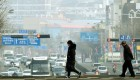 [포토뉴스]미세먼지에 갇힌 시민들