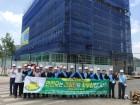 건설현장 사고사망 줄이기 캠페인