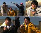 '1박 2일' 김준호-차태현-김종민, 개미지옥 '쟁반 노래방'에 영혼 광탈