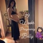 '임신 29주차' 가희, 당당히 노출한 아름다운 'D라인'