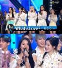 '음악중심' 트와이스, '왓 이즈 러브?'로 1위..총 4관왕 달성