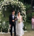 """""""축하해"""" 강경준♥장신영 '선남선녀 커플' 미소 '활짝'"""