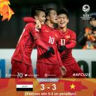 [AFC U-23] '박항서 매직' 베트남, 이라크 넘고 '4강 진출'