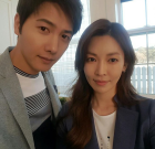"[★SHOT!] ""비주얼 부부""..이상우♥김소연, 꿀 떨어지는 신혼"