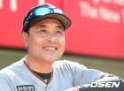 [사진]송진우 코치,'자신감 넘치는 미소'
