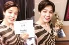 """방탄소년단 """"BBMA 수상, 팬들이 받은 것…즐겁고 행복했다"""""""