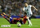 '우승도전' 아르헨티나, 메시 해트트릭 앞세워 아이티에 4-0 대승