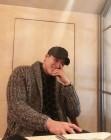 """""""어깨가 태평양""""…서하준, 주말의 커피 타임 공개"""