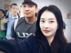 """""""안녕 내사랑, 마이 뿡뿡비""""..추신수♥하원미, 하트 가득"""